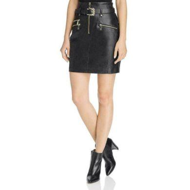 Guess dámská černá sukně s opaskem