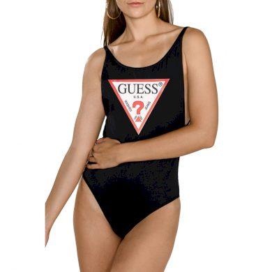 GUESS dámské černé jednodílné plavky