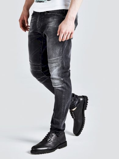 GUESS pánské černé džíny