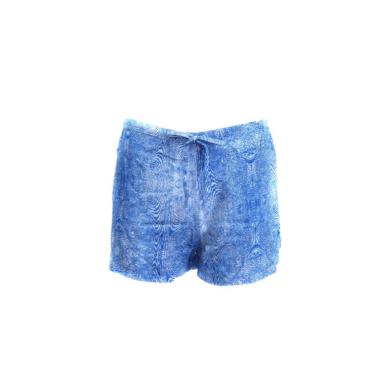 Calvin Klein dámské modré pyžamové kraťasy SLEEP SHORT