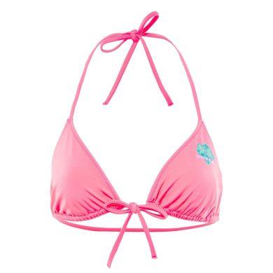 Calvin Klein dámský růžový bikiny top TRIANGLE