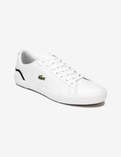 LACOSTE LEROND pánské bílé kožené tenisky