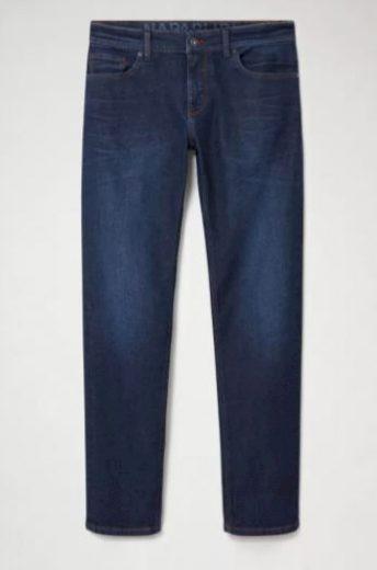 NAPAPIJRI pánské tmavě modré džíny LUND WINTER 1