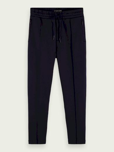SCOTCH & SODA pánské černé sportovní kalhoty