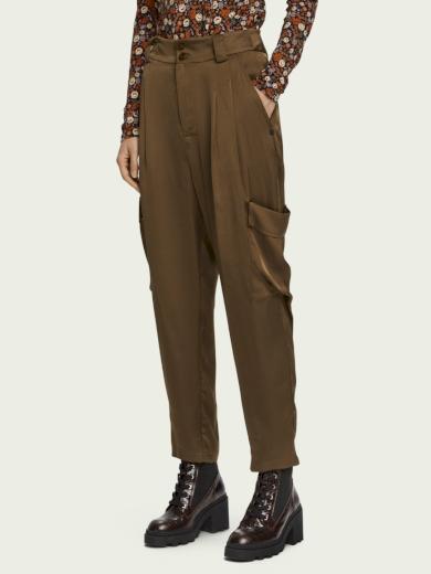 SCOTCH&SODA dámské hnědé kalhoty