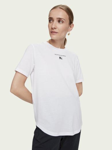 Scotch & Soda dámské bílé tričko