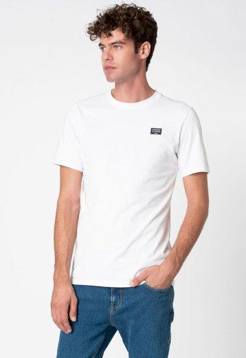 SCOTCH & SODA pánské bílé tričko