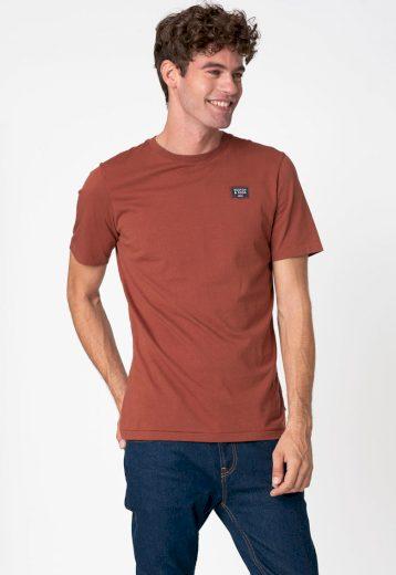 SCOTCH & SODA pánské hnědé tričko