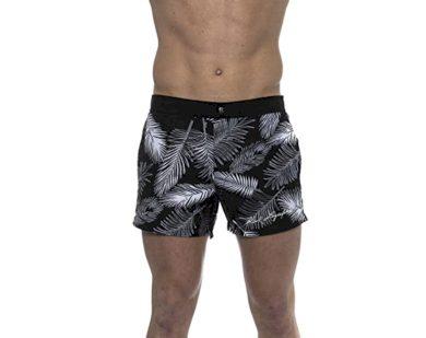 Karl Lagerfeld pánské černé plavky