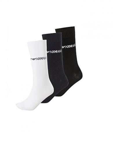 Emporio Armani pánské vícebarevné vyšší ponožky - 3ks