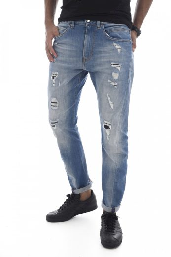 GUESS pánské džíny světle modré