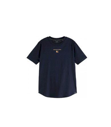 Scotch & Soda dámské modré tričko