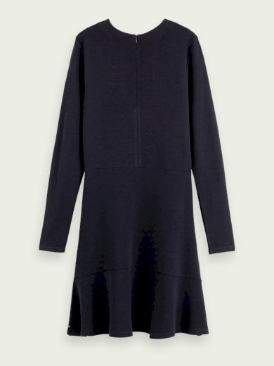 SCOTCH & SODA dámské tmavě modré šaty