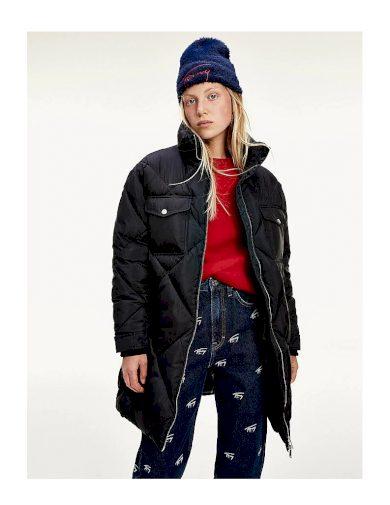 Tommy Hilfiger dámský zimní kabát DIAMOND QUILTED COAT