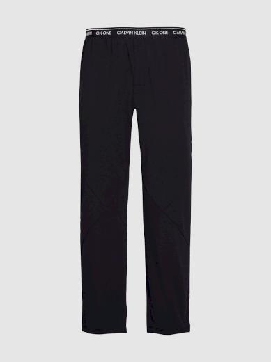 Calvin Klein pánské černé kalhoty na spaní CK ONE