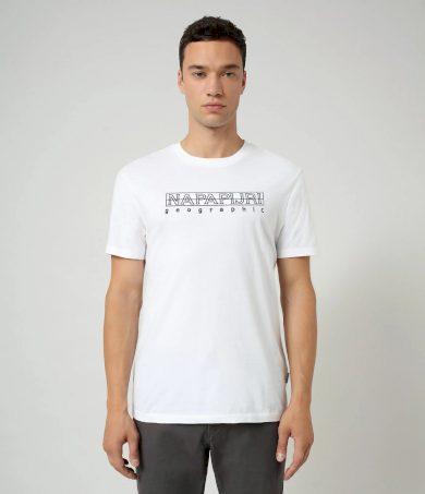 NAPAPIJRI pánské bílé tričko SEBEL