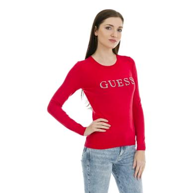 GUESS dámský červený svetr