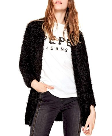 Pepe Jeans dámský černý cardigan ZOE
