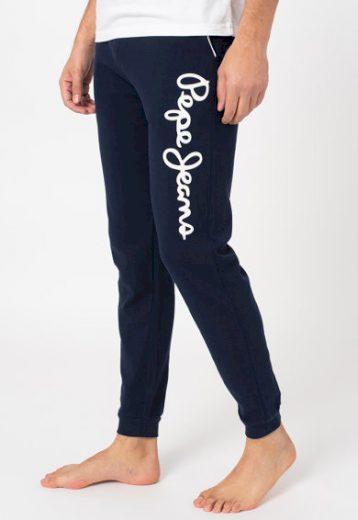 Pepe Jeans pánské tmavě modré kalhoty na spaní BARD