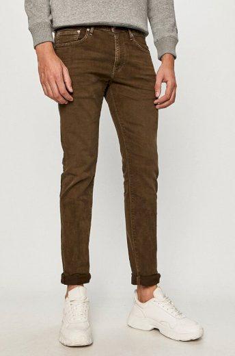Pepe Jeans pánské hnědé džíny Stanley