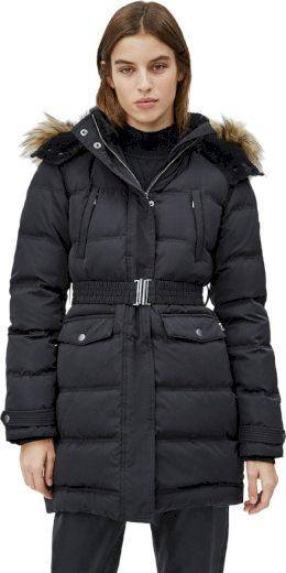 Pepe Jeans dámská péřová černá bunda MOLI