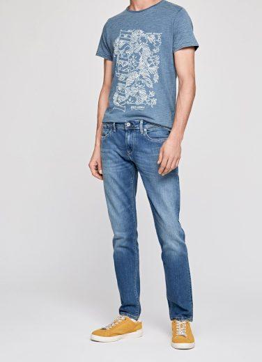 Pepe Jeans pánské světle modré džíny HATCH
