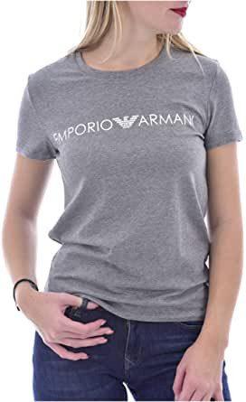 Emporio Armani dámské šedé tričko