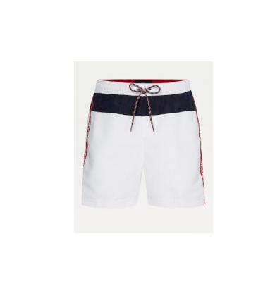 Tommy Jeans pánské bílé plavky Medium