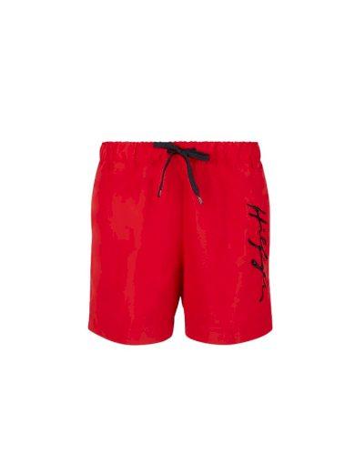 Tommy Hilfiger pánské červené plavky Medium
