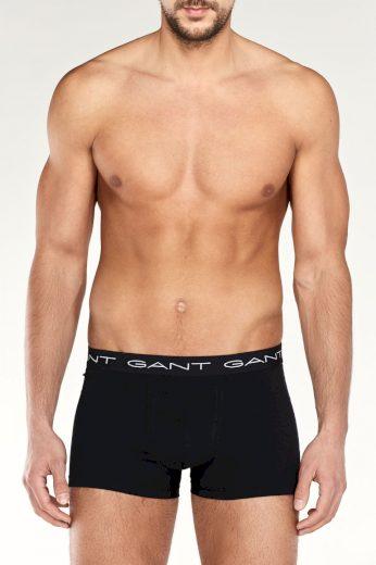 GANT pánské černé boxerky | 3 kusy