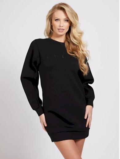 GUESS dámské černé mikinové šaty SAMARAH
