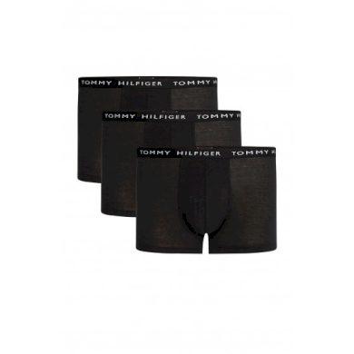 Tommy Hilfiger pánské černé boxerky 3 ks v balení RECYCLED ESSENTIALS