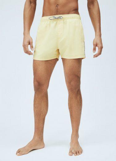 Pepe Jeans pánské žluté plavky NEW BRIAN