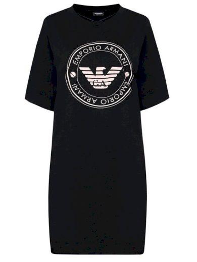 Emporio Armani dámská černá noční košile