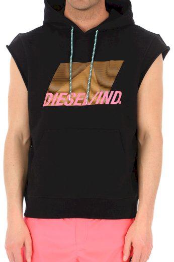 Diesel pánské černé tričko bez rukávů BRANDON