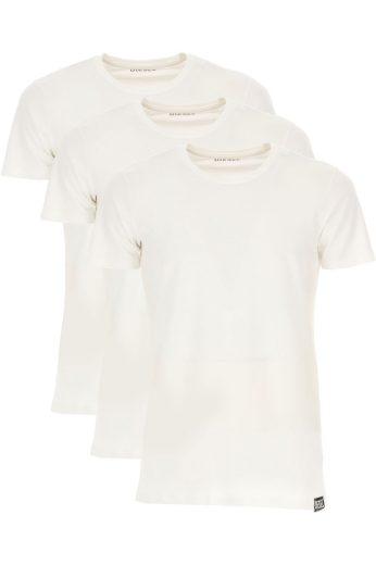 Diesel pánská bílá trička   3 PACK RANDAL