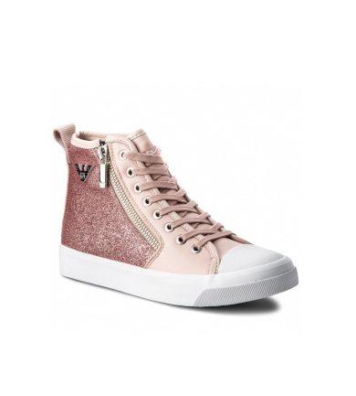 Emporio Armani dámské růžové tenisky