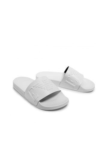 Emporio Armani dámské bílé pantofle SCARPE BEACHWEAR