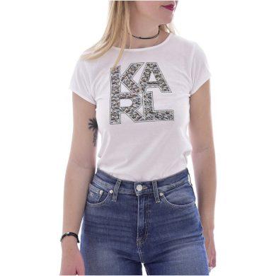 Karl Lagerfeld dámské bílé tričko