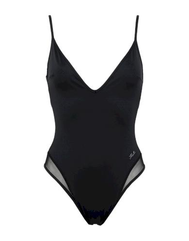 Karl Lagerfeld dámské jednodílné černé plavky SPORTY