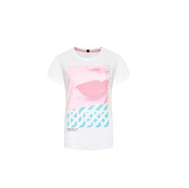 GUESS dámské bílé tričko s potiskem