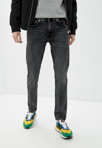 Pepe Jeans pánské černé džíny STANLEY