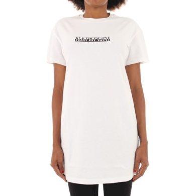 Napapijri dámské bílé tričkové šaty S-BOX