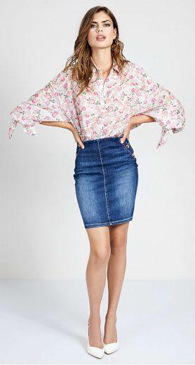 GUESS dámská džínová sukně