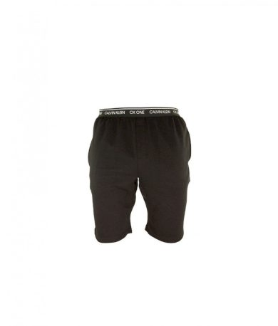 Calvin Klein pánské černé kraťasy na spaní Sleep Short