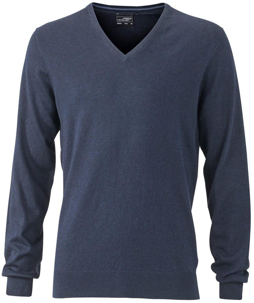 Luxusní pánský svetr s kašmírem JN664