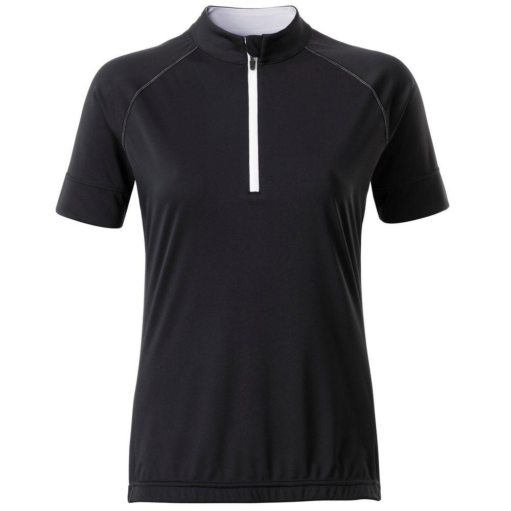 Dámský cyklistický dres s krátkým zipem JN513