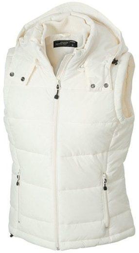 Dámská zimní vesta s kapucí JN1005