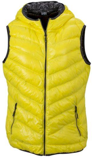 Lehká dámská péřová vesta JN1061