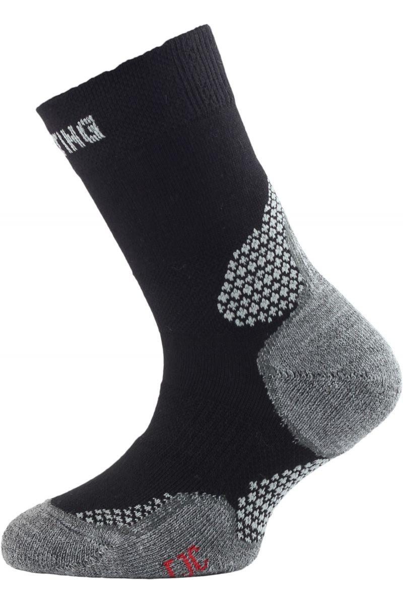 Lasting TJC 900 černá trekingová ponožka junior